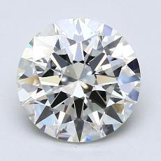 2.01-Carat Round Diamond Ideal J VS1