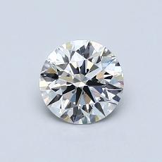 Target Stone: 0.71-Carat Round Cut Diamond