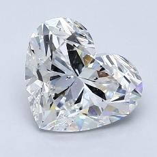 Recommended Stone #1: 2.05-Carat Heart Cut Diamond