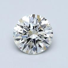 1.01-Carat Round Diamond Ideal I VVS2