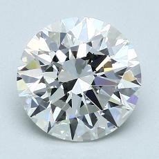 2.01-Carat Round Diamond Ideal F VVS2