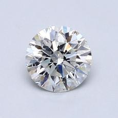 0.90-Carat Round Diamond Ideal G VS1