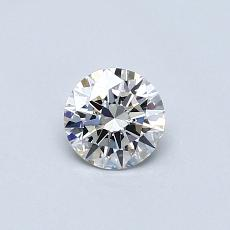 0,40 Carat Rond Diamond Idéale F VS1
