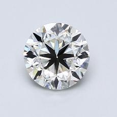 1.00-Carat Round Diamond Good I SI1