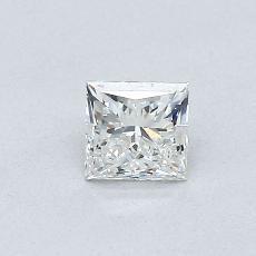 Recommended Stone #2: 0.41-Carat Princess Cut Diamond