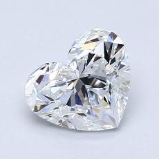 オススメの石No.3:1.15カラットのハートカットダイヤモンド