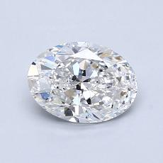Recommended Stone #3: 0,90-Carat Oval Cut Diamond