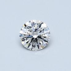 0.40 Carat 圓形 Diamond 理想 G VVS2