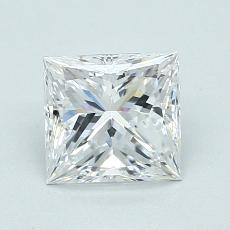 Recommended Stone #2: 0.90-Carat Princess Cut Diamond