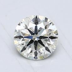 0,80-Carat Round Diamond Ideal K SI2