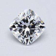 1.01-Carat Cushion Diamond Very Good D VS1