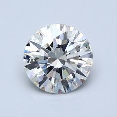 1,01 Carat Rond Diamond Idéale G VS2