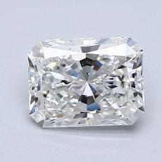 1.21-Carat Radiant Diamond Very Good F VS2