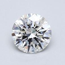 1.03-Carat Round Diamond Ideal F VVS2