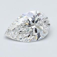 Recommended Stone #4: 1.04-Carat Pear Cut Diamond