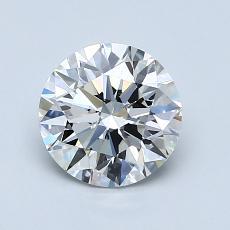 1.20-Carat Round Diamond Ideal H VS2