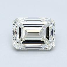 Pierre recommandée n°4: Diamant taille émeraude 1,20 carat