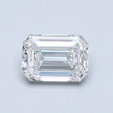 推薦鑽石 #3: 0.81  克拉綠寶石形切割鑽石
