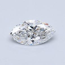 オススメの石No.2:0.51カラットのマーキスカットダイヤモンド