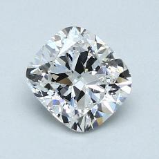 推荐宝石 4:1.01 克拉垫形钻石