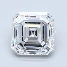 Recommended Stone #1: 1.90-Carat Asscher Cut Diamond