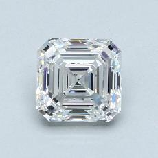 Recommended Stone #1: 1,03-Carat Asscher Cut Diamond