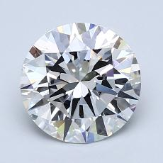 1.90-Carat Round Diamond Ideal F VS1