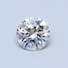 推荐宝石 4:0.53 克拉圆形切割