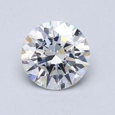 1.01 Carat 圆形 Diamond 理想 F SI1
