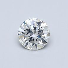 0,52-Carat Round Diamond Ideal G SI1