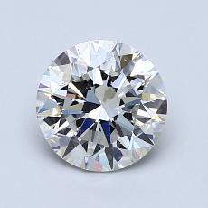 1.25 Carat 圓形 Diamond 理想 H VS2