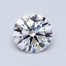 1.03 Carat 圓形 Diamond 理想 D VVS2