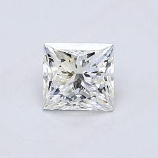 Recommended Stone #3: 0.71-Carat Princess Cut Diamond