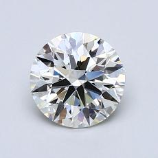 推荐宝石 3:1.07克拉圆形切割钻石