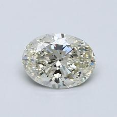 0.72-Carat Oval Diamond Very Good K VS1