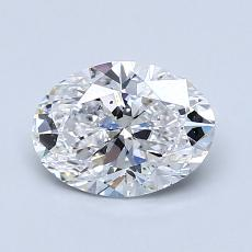 Recommended Stone #4: 1.08-Carat Oval Cut Diamond