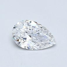 Recommended Stone #4: 0.55-Carat Pear Cut Diamond