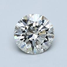1.02-Carat Round Diamond Ideal I SI1
