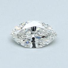推薦鑽石 #1: 0.42  克拉欖尖形切割鑽石