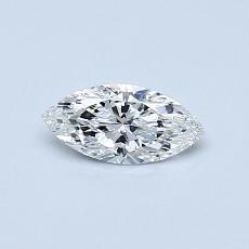 0.31-Carat Marquise Diamond Very Good F VS2