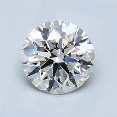 1,20-Carat Round Diamond Ideal H VVS2