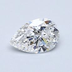 0.70-Carat Pear Diamond Very Good E VVS1