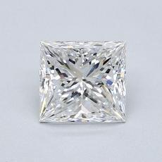 推薦鑽石 #4: 1.01  克拉公主方形鑽石