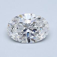 1.01-Carat Oval Diamond Very Good E SI2