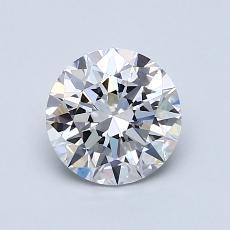 1.01 Carat 圆形 Diamond 理想 E VVS2