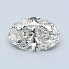 1.00-Carat Oval Diamond Very Good H VS2