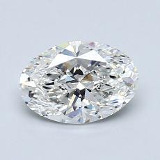 1.05 Carat Ovalado Diamond Muy buena G VS2