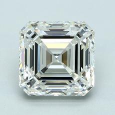 3,25-Carat Asscher Diamond Very Good J VVS1