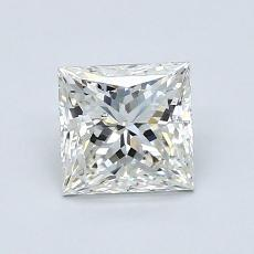 1.00-Carat Princess Diamond Very Good I SI1