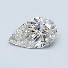 0.70-Carat Pear Diamond Very Good I SI1